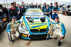 Third place #100 BMW Team SRM BMW M6 GT3: Steve Richards, Michael Almond