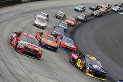Kyle Busch, Joe Gibbs Racing, Toyota Camry Skittles William Byron, Hendrick Motorsports, Chevrolet Camaro AXALTA Joey Logano, Team Penske, Ford Fusion Autotrader