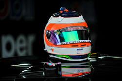Casco de Rubens Barrichello
