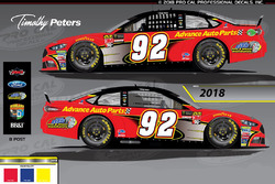 Timothy Peters, Ricky Benton Racing livery