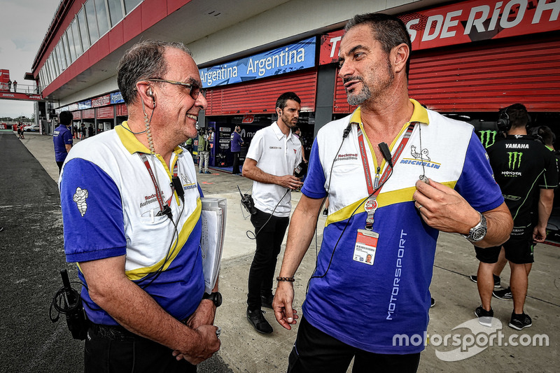 Piero Taramasso, Manager Two-Wheel Michelin Motorsport
