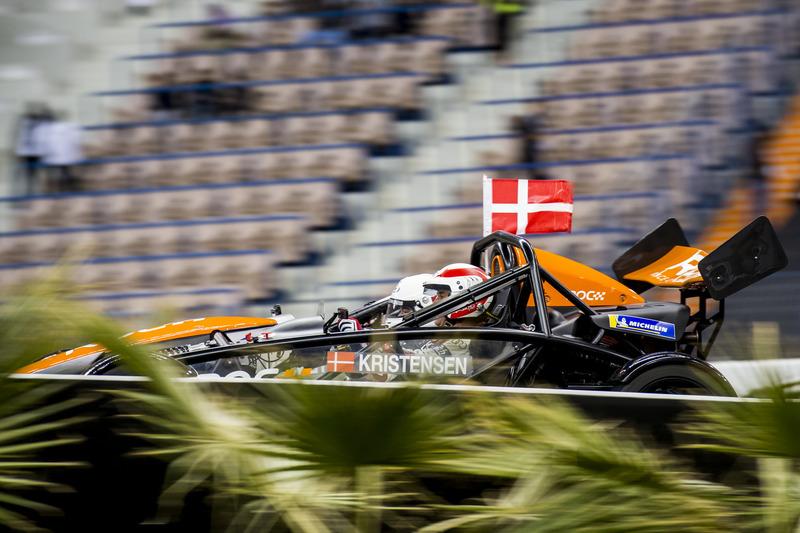 Tom Kristensen del Team Nordic alla guida dell'Ariel Atom Cup