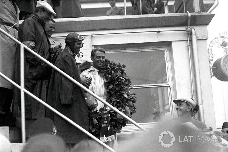 Ganador de la carrera Bernd Rosemeyer, Auto Union C-typ