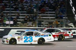 Spencer Gallagher, GMS Racing Chevrolet and Cole Custer, Stewart-Haas Racing Ford