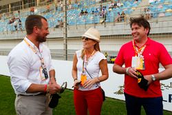 TV Chef y presentador James Martin después de su experiencia F1 Pirelli Hot Laps