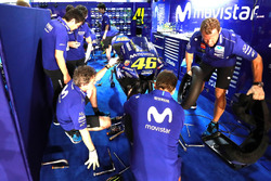 Le stand de Valentino Rossi, Yamaha Factory Racing