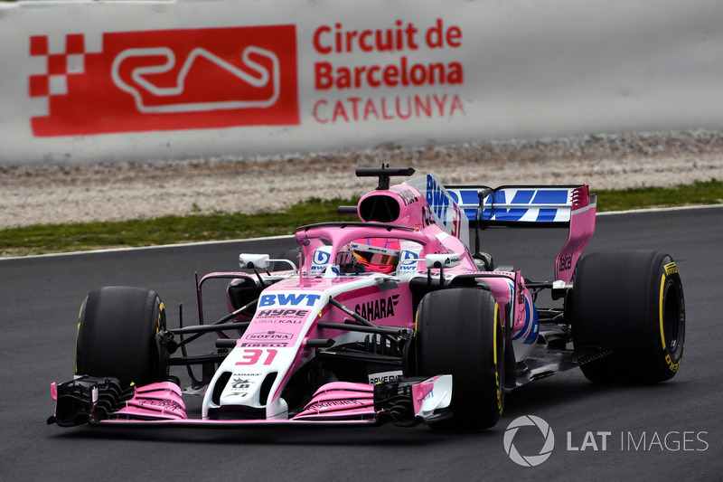Esteban Ocon, Sahara Force India VJM11
