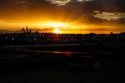 Kyle Busch, Kyle Busch Motorsports, Cessna Toyota Tundra, sunset