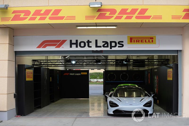 Garasi Pirelli Hot Laps