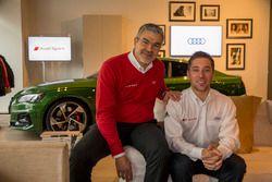 Audi Medialunch met Robin Frijns en Dieter Gass