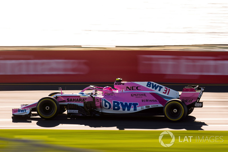 12. Esteban Ocon, Force India VJM11