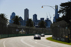 Jack Le Brocq, Tekno Autosports Holden, leads Cameron Waters, Tickford Racing Ford