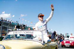 Stoffel Vandoorne, McLaren, op de parade