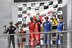 CRP Racing Mercedes-AMG GT3: Daniel Morad, R.Ferri Motorsport Ferrari 488 GT3: Toni Vilander, Miguel Molina, Lone Star Racing Mercedes-AMG GT3: