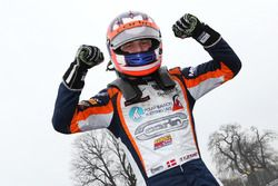 Race winner Nicolai Kjaergaard, Carlin