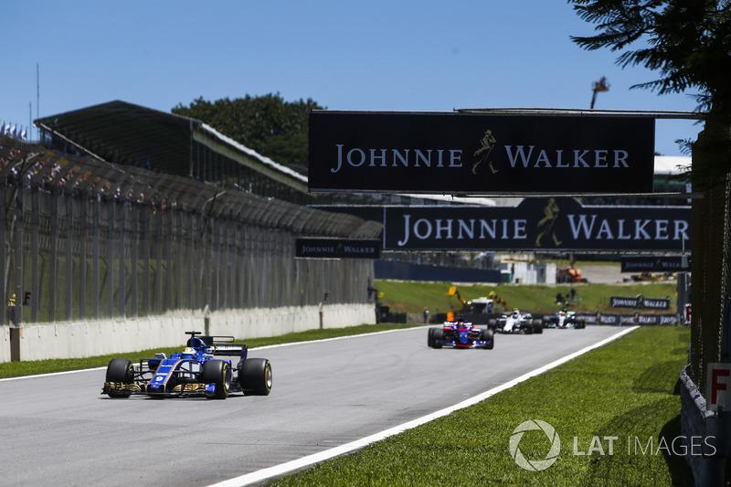 """13. Marcus Ericsson, Sauber - """"Het was een vermakelijke race"""""""