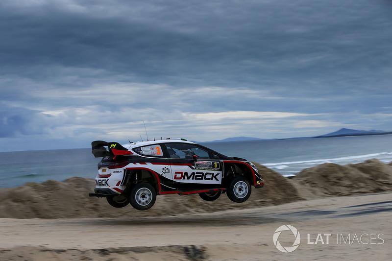 Елфін Еванс, Даніель Барріт, Ford Fiesta WRC, M-Sport