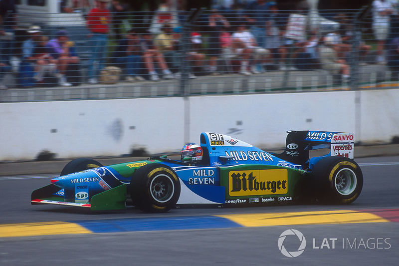 Michael Schumacher,Benetton B194 Ford