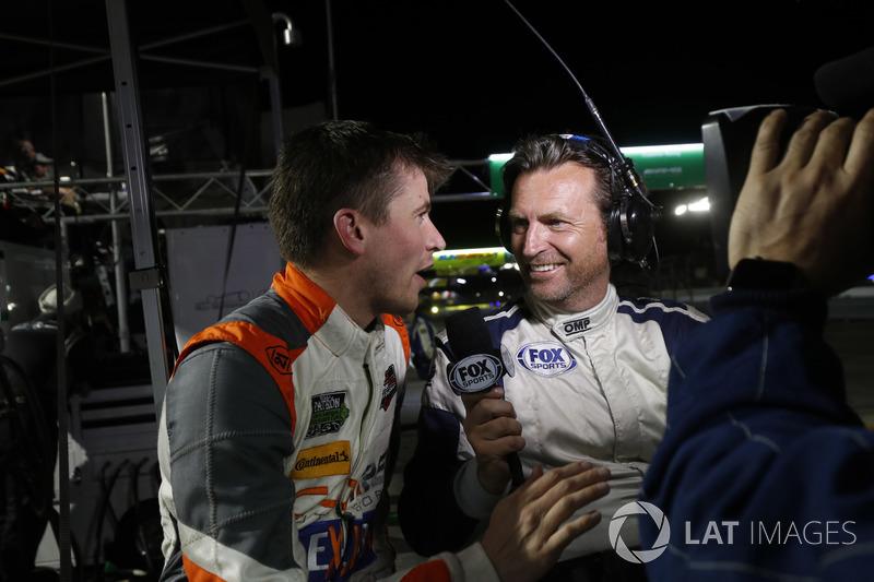 Colin Braun, CORE autosport, Justin Bell