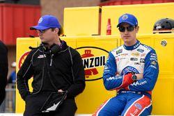 Joey Logano, Team Penske, Ford Fusion AAA Southern California