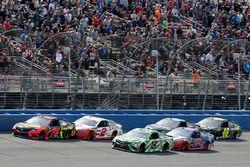 Kyle Busch, Joe Gibbs Racing, Toyota Camry Interstate Batteries Martin Truex Jr., Furniture Row Raci