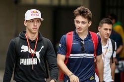 Pierre Gasly, Scuderia Toro Rosso and Charles Leclerc, Sauber