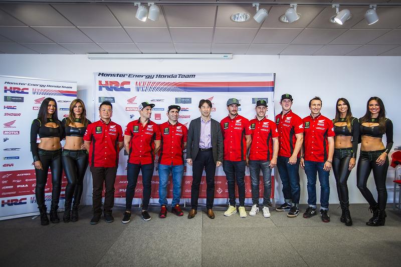 Monster Energy Honda Team presentatie