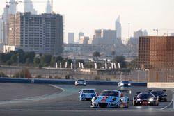 #991 Gulf Racing Porsche 991 GT3 R: John Wartique, Nicolas Saelens, Philipp Sager, Hisashi Kunie, Kimihiro Yashiro