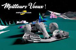 Carte de voeux de Motorsport.com France pour 2018