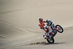 #77 KTM Racing Team: Luciano Benavides