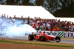 Motorschaden: Eddie Irvine, Ferrari F310