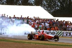 Эдди Ирвайн, Ferrari F310, отказ двигателя