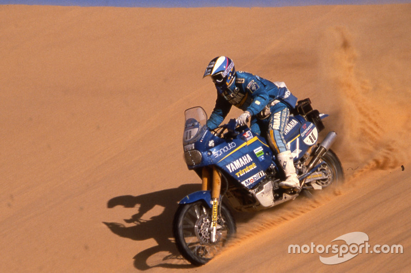 Stephane Peterhansel, Yamaha, 6 Dakar