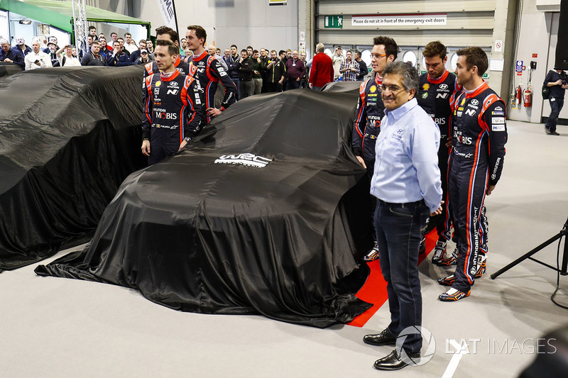 Présentation officielle de la Hyundai i20 WRC 2018