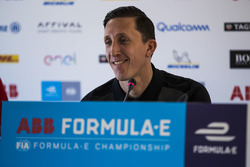 James Barclay, Team Director, Jaguar Racing, in the press conference