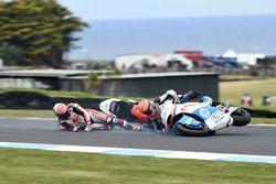 Takaaki Nakagami, Idemitsu Honda Team Asia, Edgar Pons, Pons HP 40 crash