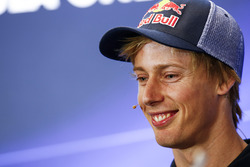 Brendon Hartley, Scuderia Toro Rosso, in the press conference
