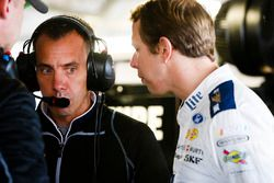 Brad Keselowski, Team Penske, Ford Fusion and crew chief Paul Wolfe