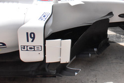 Williams FW40 barge boards