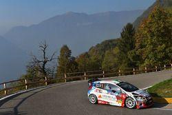 Stefano Albertini, Danilo Fappani, Ford Fiesta WRC, Scuderia Mirabella