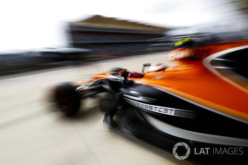 14. Stoffel Vandoorne, McLaren MCL32