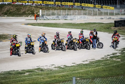 Riders line-up