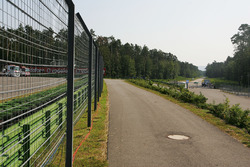 The old Hockenheim circuit