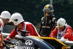 Nico Hulkenberg, Renault Sport F1 Team R.S. 18 detenido en la pista