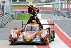 Race winners #26 G-Drive Racing Oreca 07 - Gibson: Roman Rusinov, Andrea Pizzitola, Jean-Eric Vergne