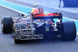Max Verstappen, Red Bull Racing RB13 met aerodynamische sensoren