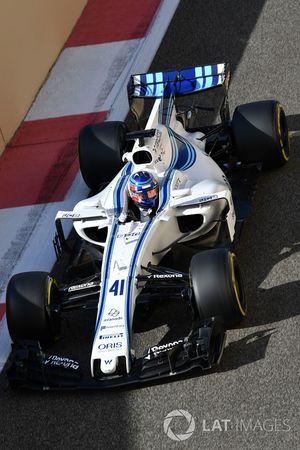 Сергей Сироткин, Williams FW40