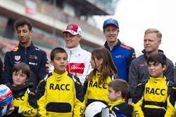 Drivers with the RACC Cadet Karters