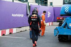 Max Verstappen, Red Bull Racing na crash