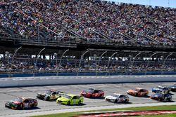 Noah Gragson, Joe Gibbs Racing, Toyota Camry Switch leads